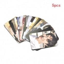 86 x 54mm-es 5db fotó autogrammal - LOMO kártya - KPOP - NCT