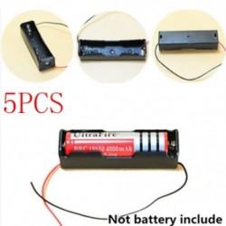 D-5db műanyag doboz Akkumulátorok hordozható műanyag elemtartó fedél tartó tároló doboz DIY