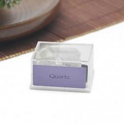 Kvarc 1 doboz Mini természetes durva kövek nyers rózsa kvarc kristály ásványi sziklák gyűjteménye
