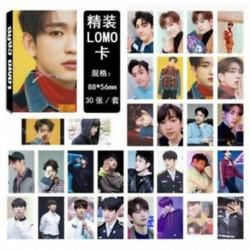Jinyoung - 88 x 56mm-es 30db-os fotó szett - LOMO kártya - KPOP - GOT7