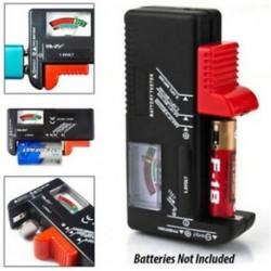 Univerzális akkumulátor feszültségmérő eszköz AA AAA CD 9V gombcellás feszültségmérő eszköz