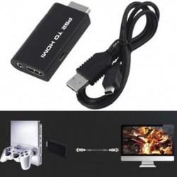 PS2 - HDMI átalakító adapter Audió videó kábel w / 3,5 mm audio kimenet HDTV-hez