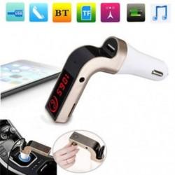 G7 Bluetooth autós kihangosító FM adó rádió MP3 lejátszó USB USB töltő készlet