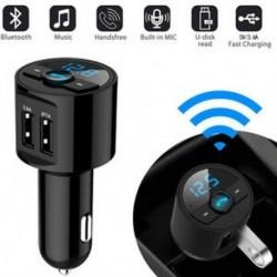 Bluetooth autós FM adó rádiós rádióadapter MP3 lejátszó   USB töltő Új