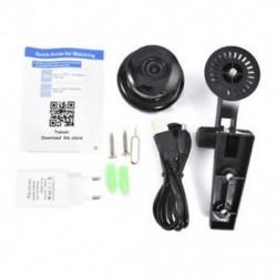EU Plug 1080P mini vezeték nélküli WIFI IP kamera HD intelligens otthoni biztonsági kamera éjszakai látás