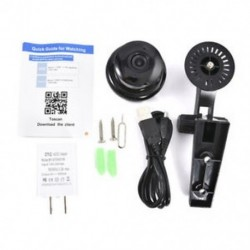 US Plug 1080P vezeték nélküli mini WIFI IP kamera HD intelligens otthoni biztonsági kamera éjszakai látás JP