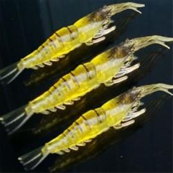 3db horgász csalit (hossza 7cm) Horgász csalik Crankbaits horogok Garnélarák Minnow Frog Fish Baits Bass Tackle Tool