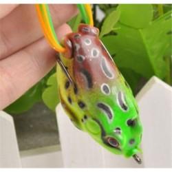 1PC barna forg 8cm Horgász csalik Crankbaits horogok Garnélarák Minnow Frog Fish Baits Bass Tackle Tool