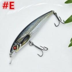 E 1db 11cm 13g halászati csalit Horgász csalik Crankbaits horogok Garnélarák Minnow Frog Fish Baits Bass Tackle Tool