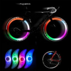 Mountain Bike Kerékpár Kerékpározás Beszélő drótkerék Gumiabroncskerék LED Világos fénylámpa