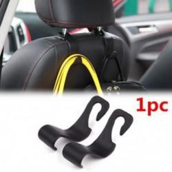 1x univerzális autó automatikus hátsó ülés kampó fogas táska kabát pénztárca szervező tulajdonosa