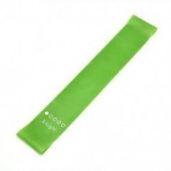 Zöld Jóga tornaterem Fitness ellenállás rugalmas edzés gumiszalag nyújtási gyakorlat JP
