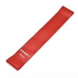 Piros Ellenállás rugalmas gumiszalagok Gyakorlati jóga zenekarok Fitness jóga edzőterem edzés JP