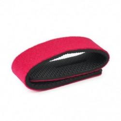 Piros Horgászbot kötözőszíj övcsat rugalmas gumibetétes pólus tartó újonnan JP