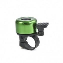 Zöld Sport kerékpár kerékpározás és kerékpározás Bell fém kürtgyűrű Biztonsági hang riasztó fogantyú JP