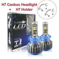 * 2 H7 (70W) 9005 9006 H4 H7 H8 / H9 / H11 COB 6000K autós LED fényszórókészlet
