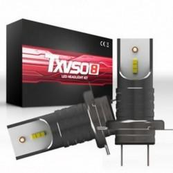 H7 (Gun BlackďĽ ‰ 110W 9005 HB3 H4 H7 H8 H9 H11 LED fényszóró izzók készlet izzó autó magas alacsony sugárzó