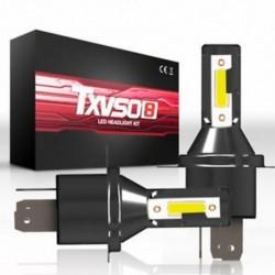 H4 110W 9005 HB3 H4 H7 H8 H9 H11 LED fényszóró izzók készlet izzó autó magas alacsony sugárzó ködlámpa