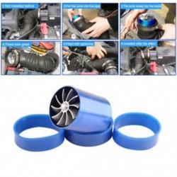 Pro légbevezető Turbonator Dual Fan Turbine Turbo kompresszor gáz üzemanyag-megtakarító