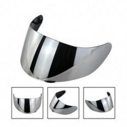 Ezüst Motorkerékpár szélvédő sisak objektív visor teljes arcát illeszkedő AGV K1 K3SV K5