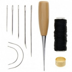7 darab varró tű bőr javítás varrás