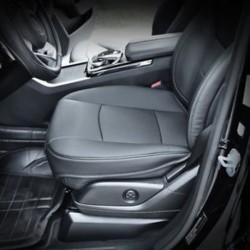 Fekete PU bőr 3D teljes körű autós ülésvédő üléshuzat tartozékok Új