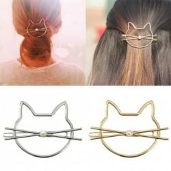 1x divatos aranyos macska cica hajcsat hajdísz esküvői ékszer kiegészítő Ajándék