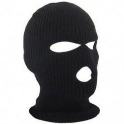 * 3 Fekete Szélálló sí motorkerékpár kerékpározás szabadtéri balaclava teljes arc maszk nyak sál kalap