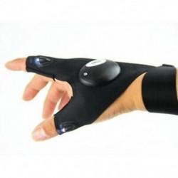 Jobb kéz Hot LED Light Finger világítás kesztyűk Auto javítás szabadban villog Artifact 1db