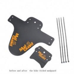 narancs 2x Kerékpár Könnyűbb hegy MTB Sárvédők Gumiabroncs gumiabroncs Kerékpár sárvédők