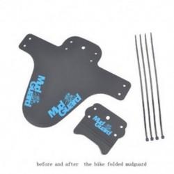 Kék 2x Kerékpár Könnyűbb hegy MTB Sárvédők Gumiabroncs gumiabroncs Kerékpár sárvédők