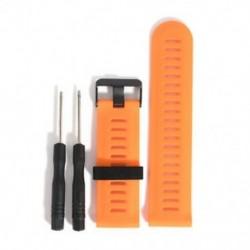 narancs Garmin Fenix 5X GPS Watch csere Silicagel Gyors telepítésű sávszíj