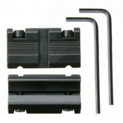 1 pár Picatinny 11 mm-es illeszkedés 7/8 &quot 20 mm-es szövőhálós adaptercsatlakozóhoz