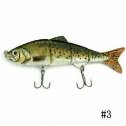 3 * Minnow horgászbéka Crank Bait horgok Bass Crankbaits Fogás a süllyedő Popper