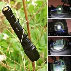 1db 20000 lumen 5 mód XM-L T6 LED 18650 Erős fáklya Rendőrség zseblámpa lámpa