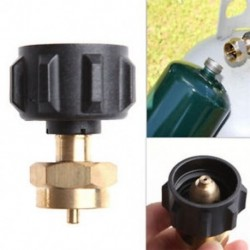 1LB gáz propán QCC1 szabályozószelep propán újratöltő adapter acél propánhoz