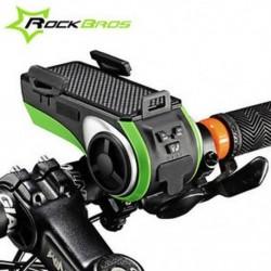 ROCKBROS többfunkciós kerékpár audio lejátszó kerékpáros fényszóró kerékpártartó