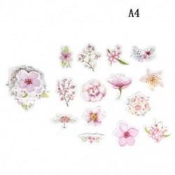 A4 (45db / készlet) Hot Calendar Scrapbook Album naplókönyv Decor DIY papír tervező matrica kézműves