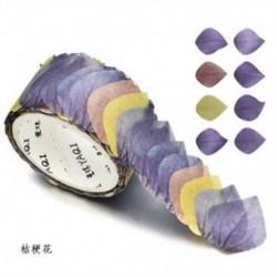 1 tekercs Balloon Flower Washi szalagos papír maszkoló szalag Scrapbook dekoratív DIY ragasztó matrica dekoráció
