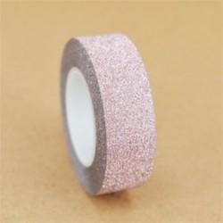 1 tekercs sárgabarack (15 mmX10m) Washi szalagos papír maszkoló szalag Scrapbook dekoratív DIY ragasztó matrica