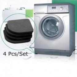 4 db mosógép hűtőszekrény Alátét Csúszásmentes zajcsillapító rezgéscsillapító