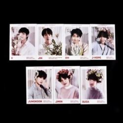 "*A 7db KPOP BTS Love Yourself ç »"" Album Jin V Paper Photocard fotókártyák válaszolása"