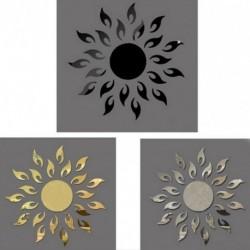 1x nap napraforgó mintás Akril tükör hatású falimatrica matrica Vinyl otthon szoba lakás dekoráció