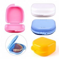1db fogorvosi fogszabályzó műfog tároló tok műanyag doboz