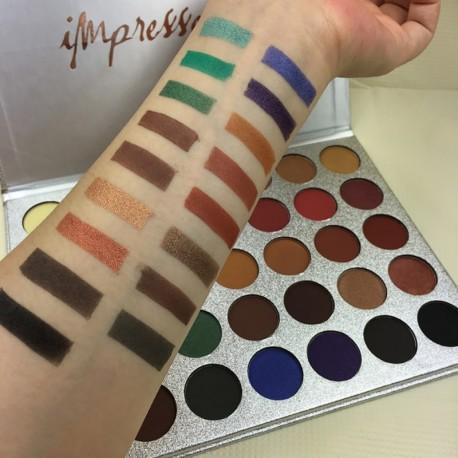 35 színű Professzionális szemöldök szemhéjfesték szemhéjárnyaló smink paletta kozmetikum makeup