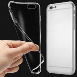 IPhone 6S / 4.7 esetén IPhone 6 7 8 Plus X puha TPU vékony, vékony, átlátszó átlátszó borító tok