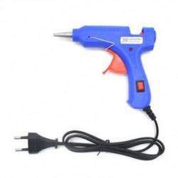 EU Plug 20W 110-220V Mini professzionális elektromos fűtés forró olvadék ragasztó pisztoly US / EU dugó