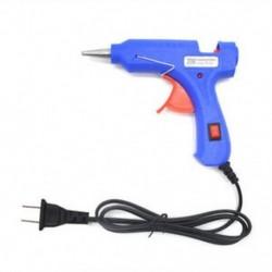 US Plug 20W 110-220V Mini professzionális elektromos fűtés forró olvadék ragasztó pisztoly US / EU dugó