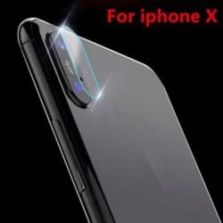 IPhone X-hez (1db tiszta) Apple iPhone X XS Max XR edzett üveg hátsó kamera lencséje képernyővédő