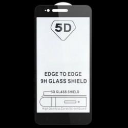 Fekete Xiaomi A1 számára 1x teljes borítású edzett üveg képernyővédő fólia Xiaomi Redmi 5A 4A 4 Mi6